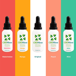 CBD Move Tincture – 1000mg