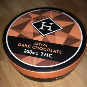 Hashman Infused Sativa Dark Chocolate